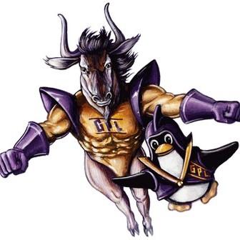 GNU y Tux, mascotas de GNU y Linux