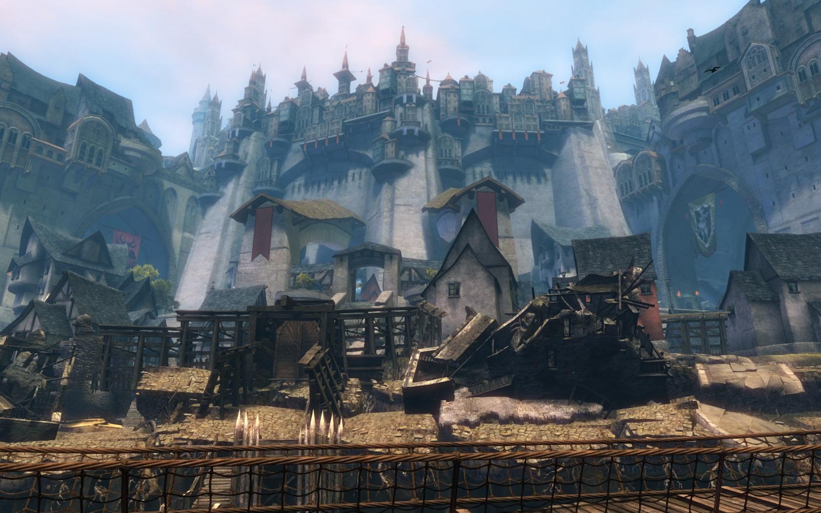 Ejemplo de los mundos virtuales que encontramos en los MMO