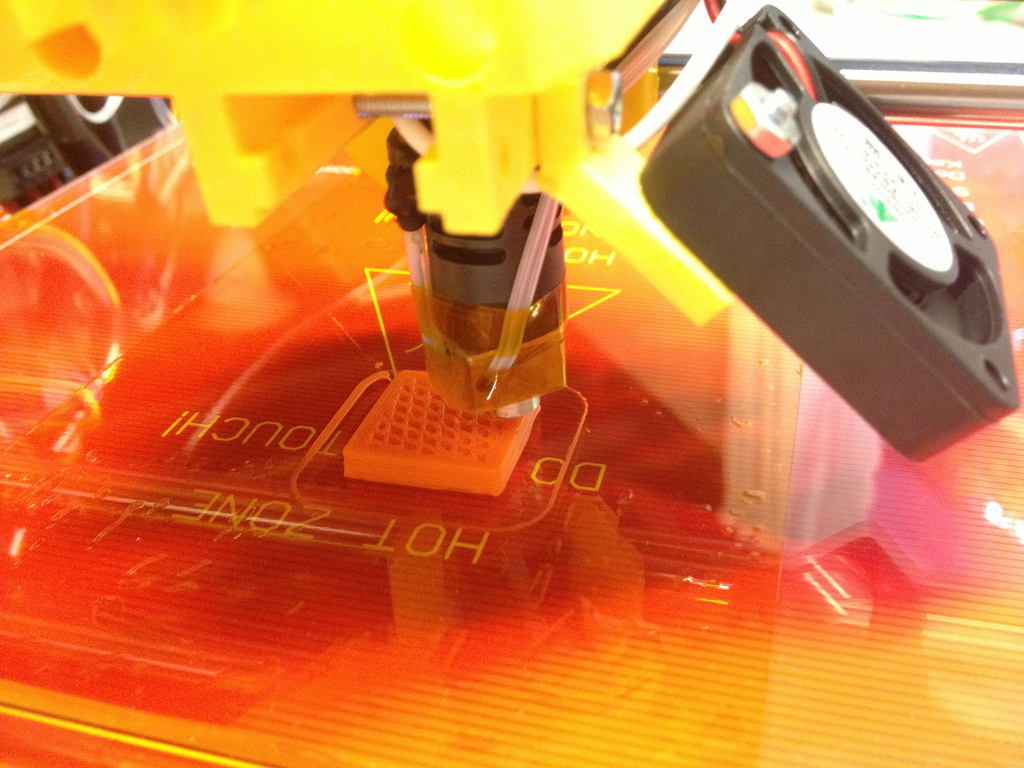 Extrusor de la impresora 3D Prusa i3