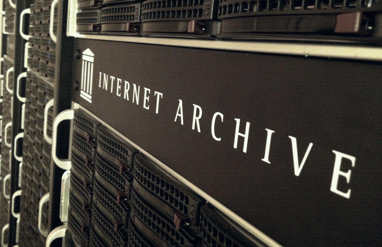Servidores de Internet Archive, organización dedicada al archivo web desde 1996
