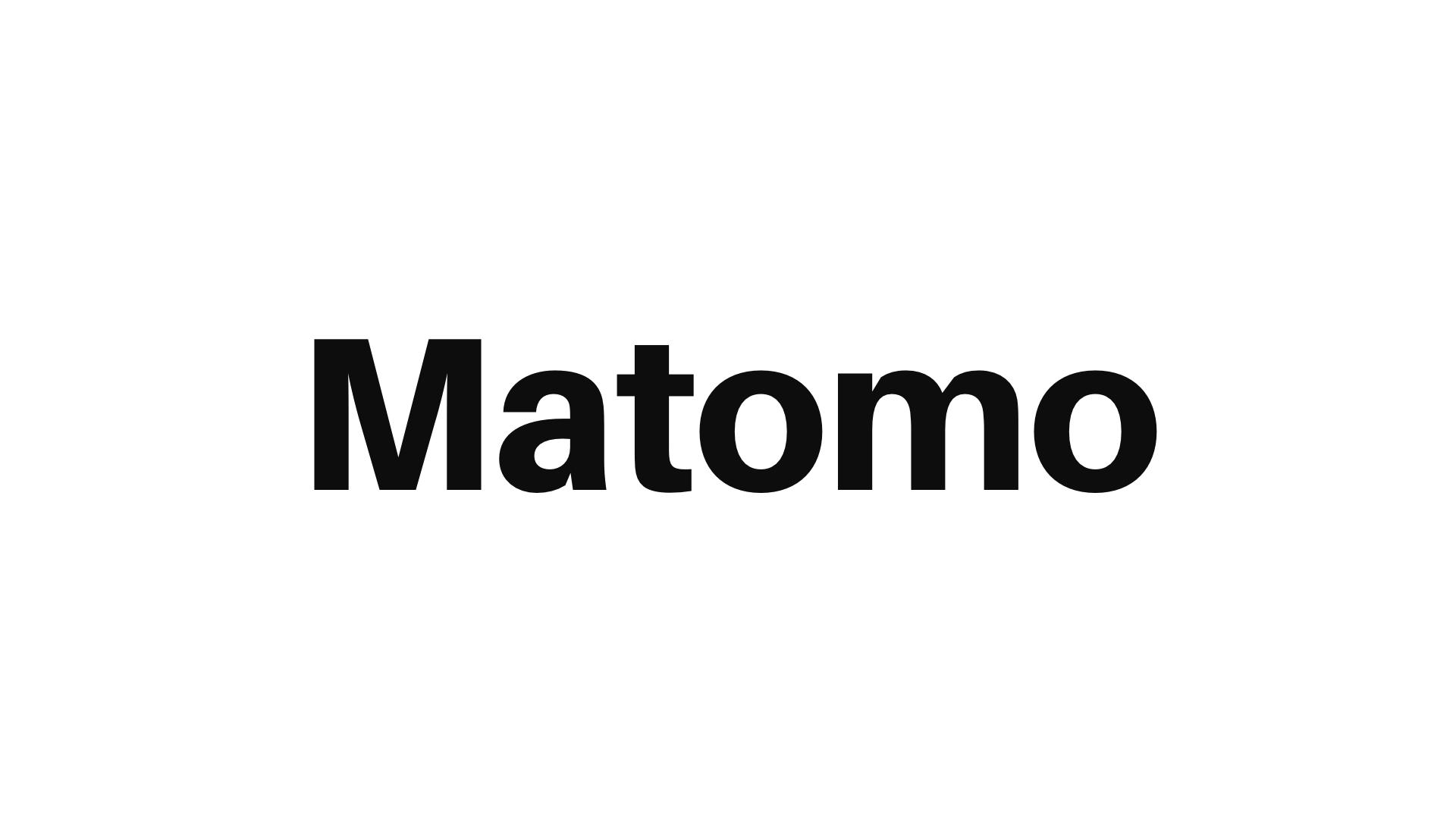 Logo de Matomo